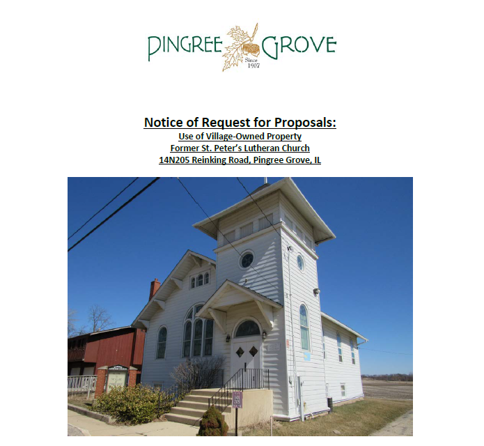 Church RFP Cover