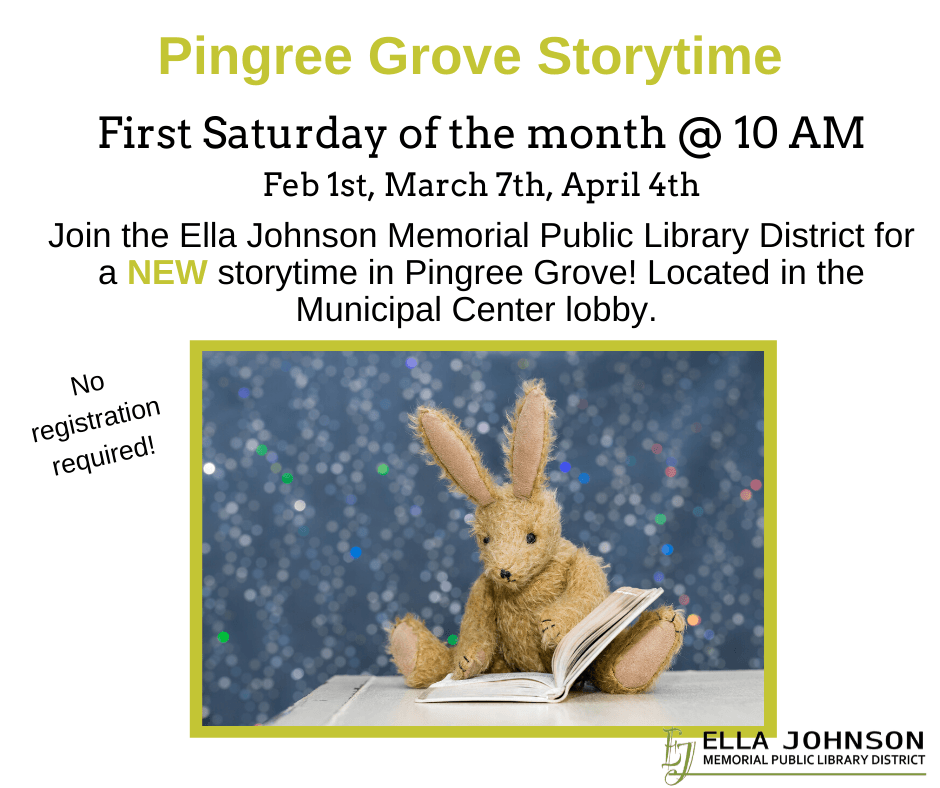 Pingree Grove Storytime FB