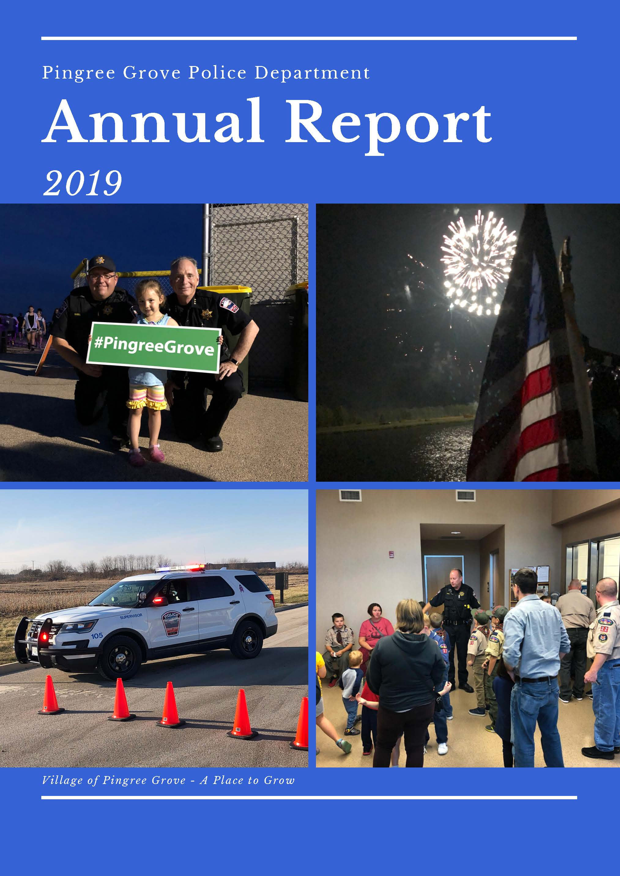 Click Here for 2019 Police Department Annual Report