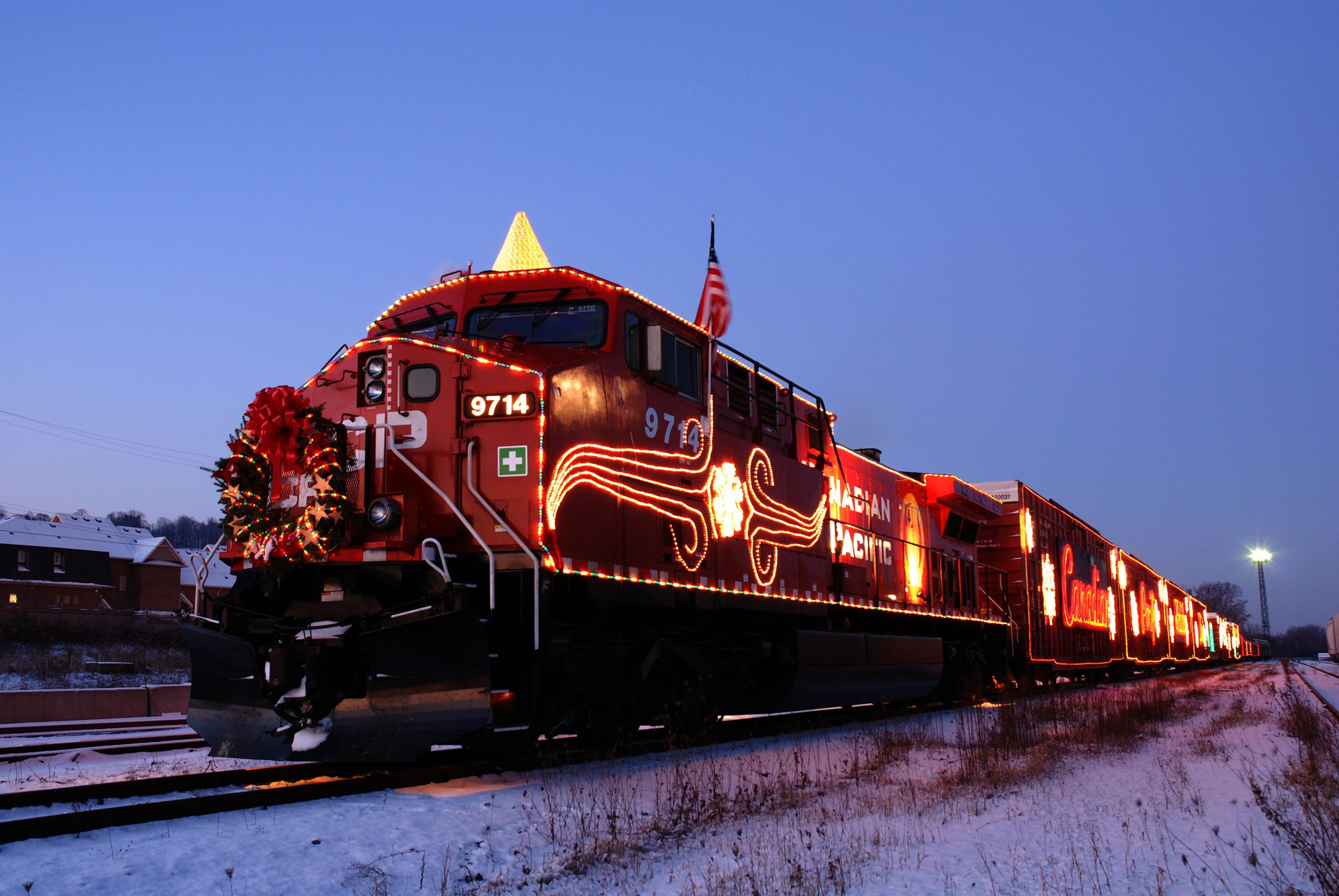 The Canadian Pacific Holiday Train