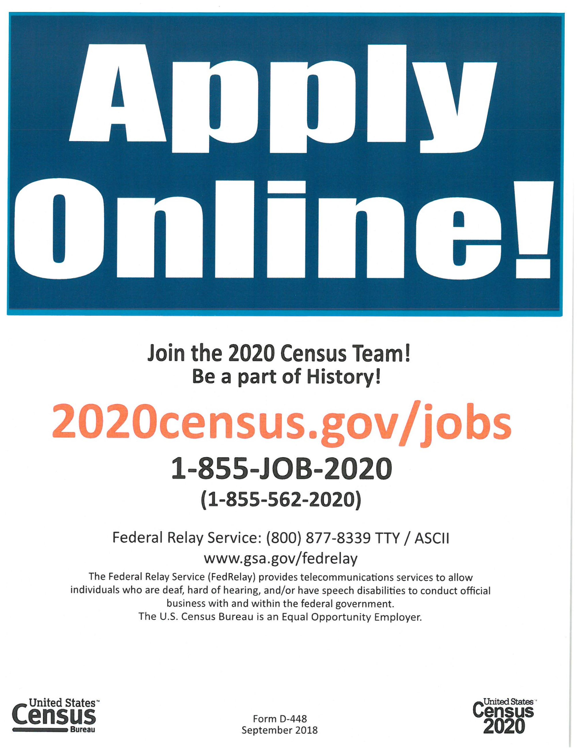 Census 2020 Jobs