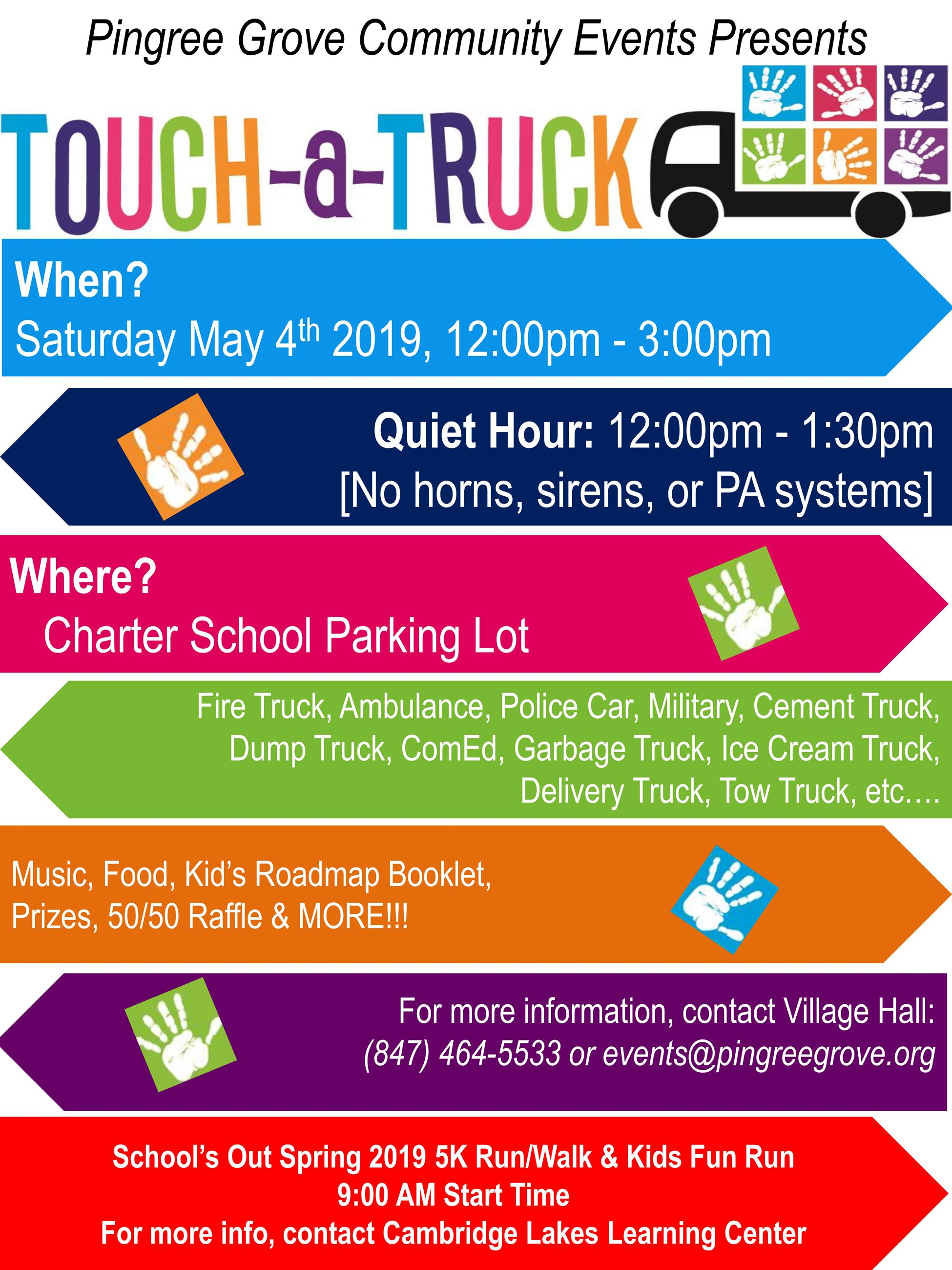 PG Touch A Truck Flyer 2019- 5k version
