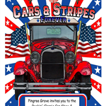 Cars and Stripes Poster 2019
