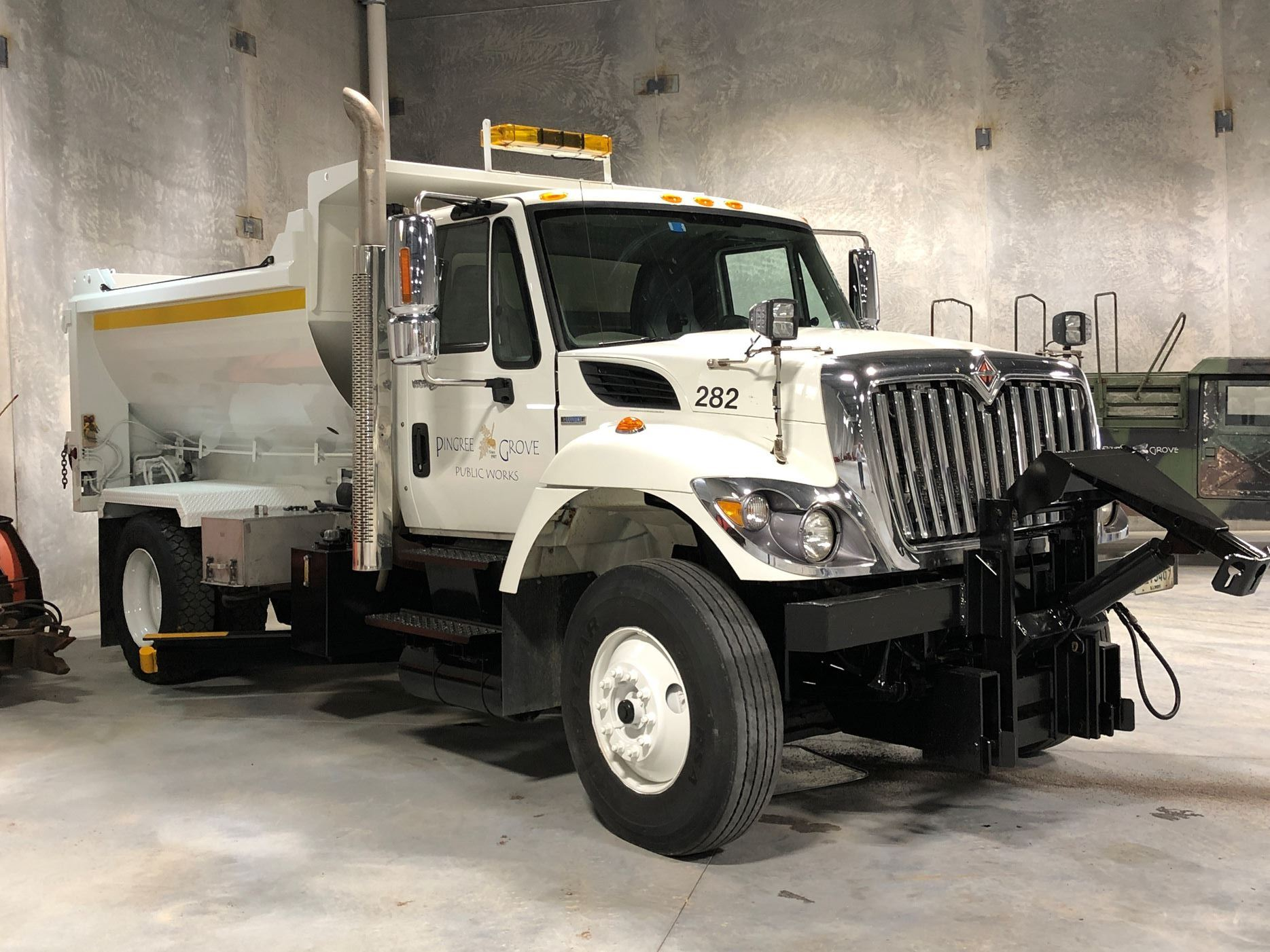 Newly Rehabilitated Snow Plow Truck