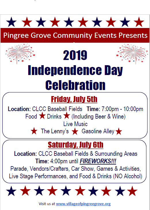 Independence Day 2019 Flyer
