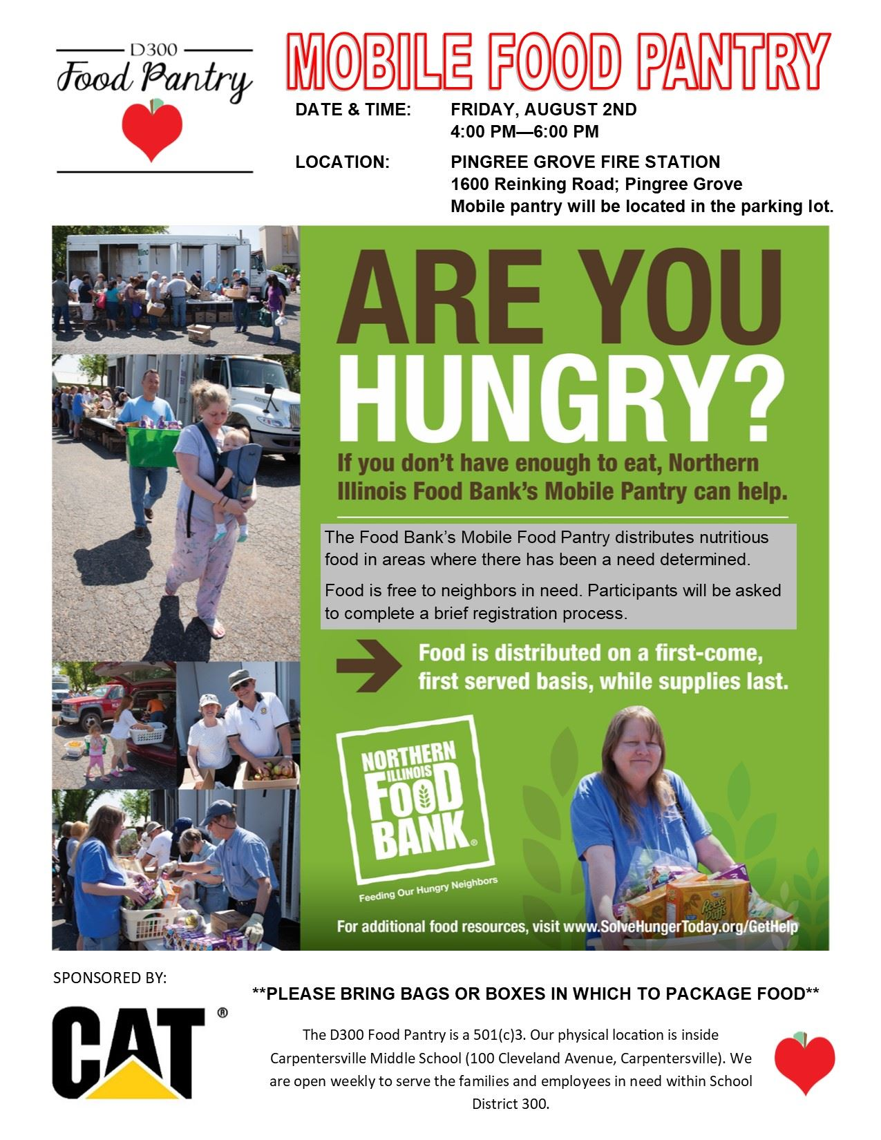 Mobile Pantry Flyer - Pingree Grove - 08.02.19