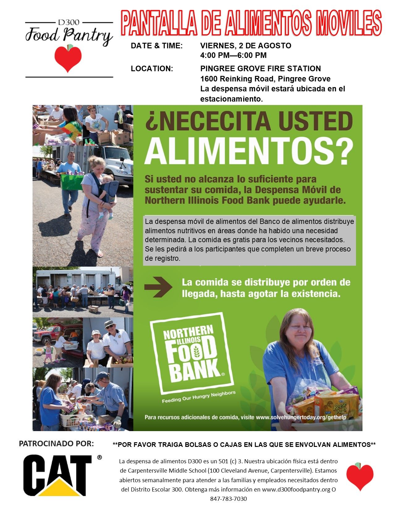 Mobile Pantry Flyer - SPANISH - Pingree Grove - 08.02.19